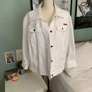 Lauren Ralph Lauren | White Denim Jacket 3X